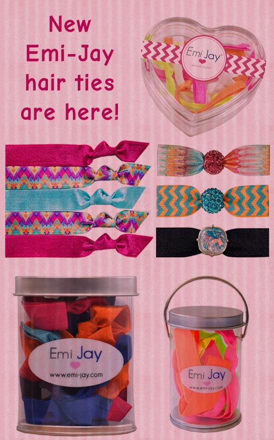 Emi-Jay hair ties are here to save your hairstyles!