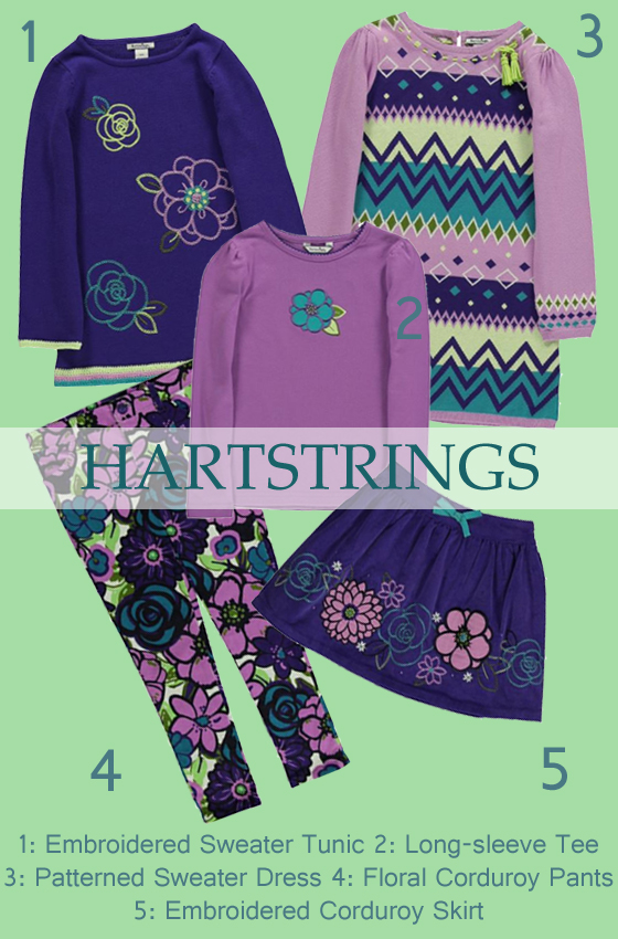 Purple Collection by Hartstrings