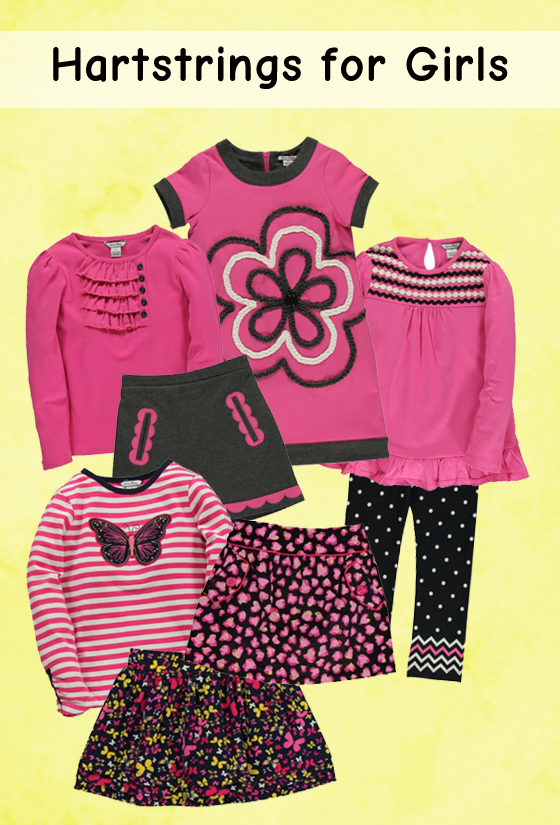Cute pieces in pink by Hartstrings