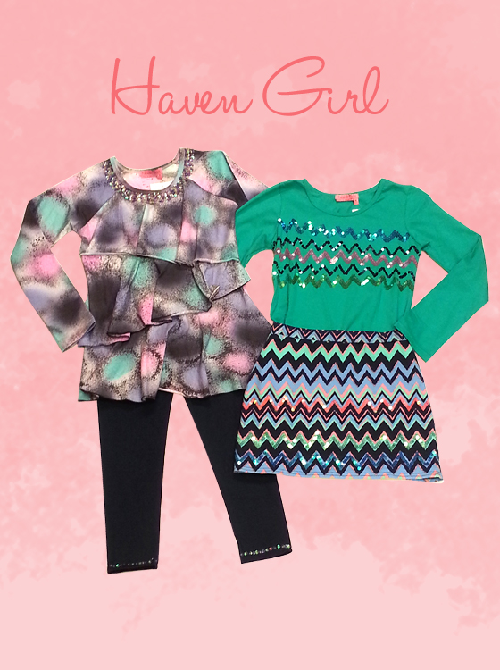 Skort Set and Tunic Set by Haven Girl