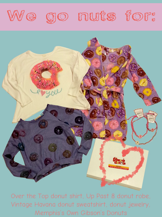Donut themed items for fall