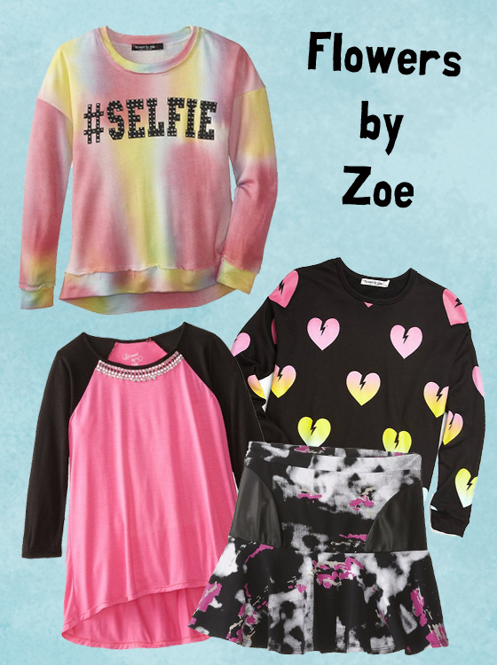 Cute and colorful options from a Sachi fave: Flowers by Zoe