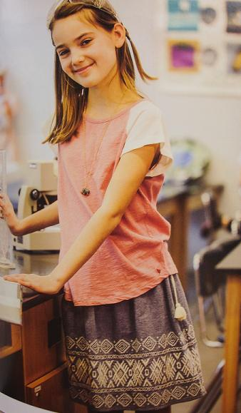 Top and Skirt available at Sachi Girl