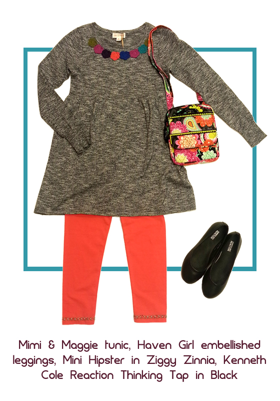 Strut in style with this cutely coordinated look.