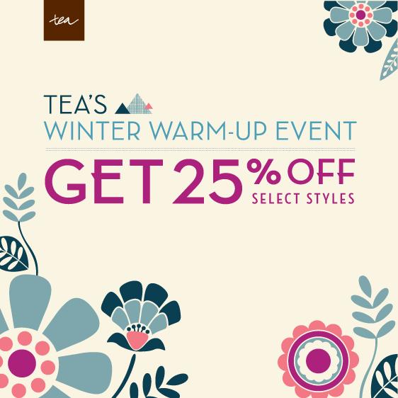 tea winter warmup sale