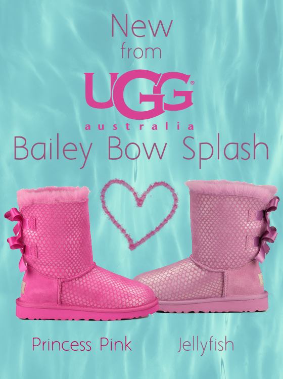 New from Ugg: Bailey Bow Splash
