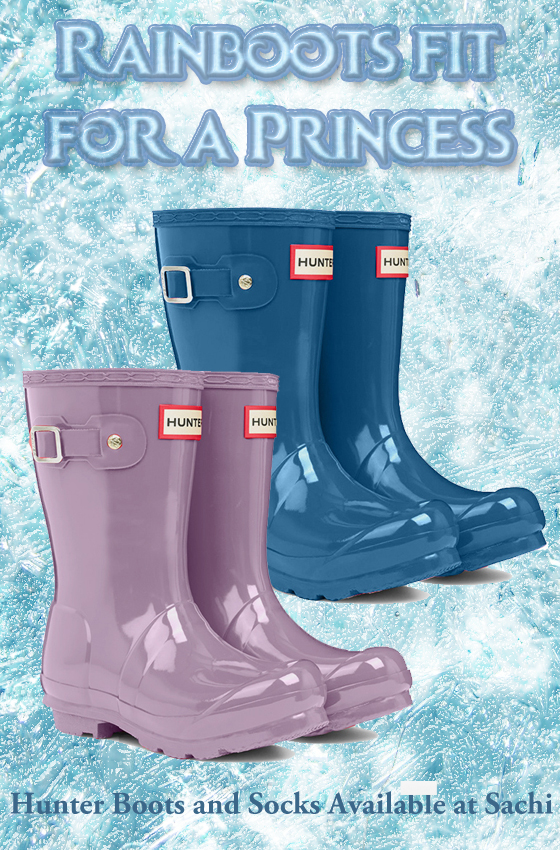 Hunter Rainboots in Dusty Lavender and Dusty Petrol