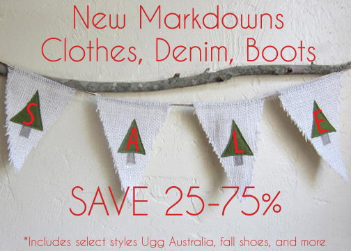 New markdowns taken at Sachi!