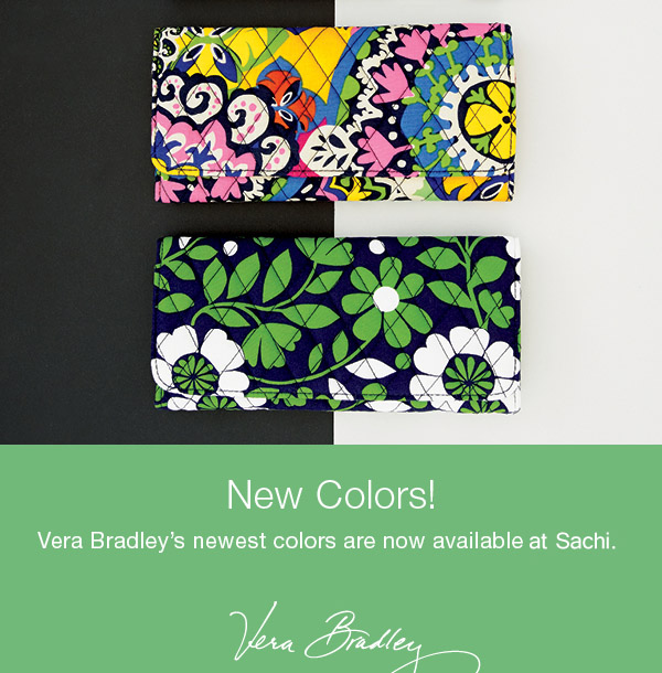 Vera Bradley Spr 15 New Colors