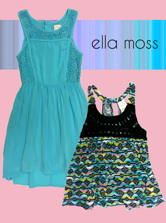 Dress and tank from Ella Moss