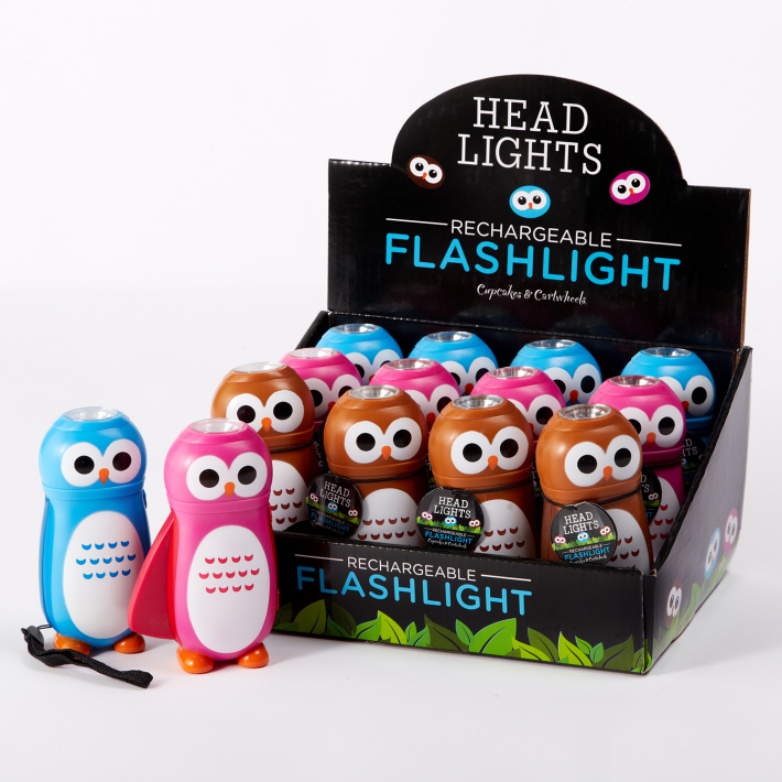 owl flashlights