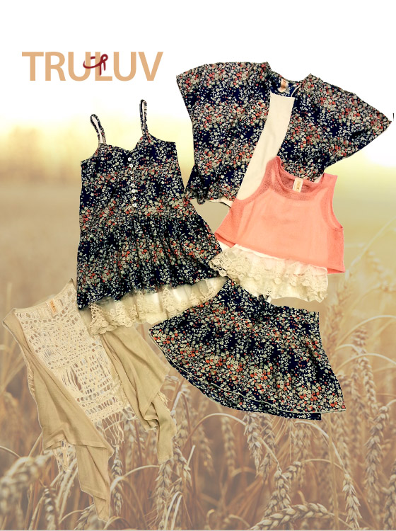 Cute ensembles by tween fave Tru Luv.