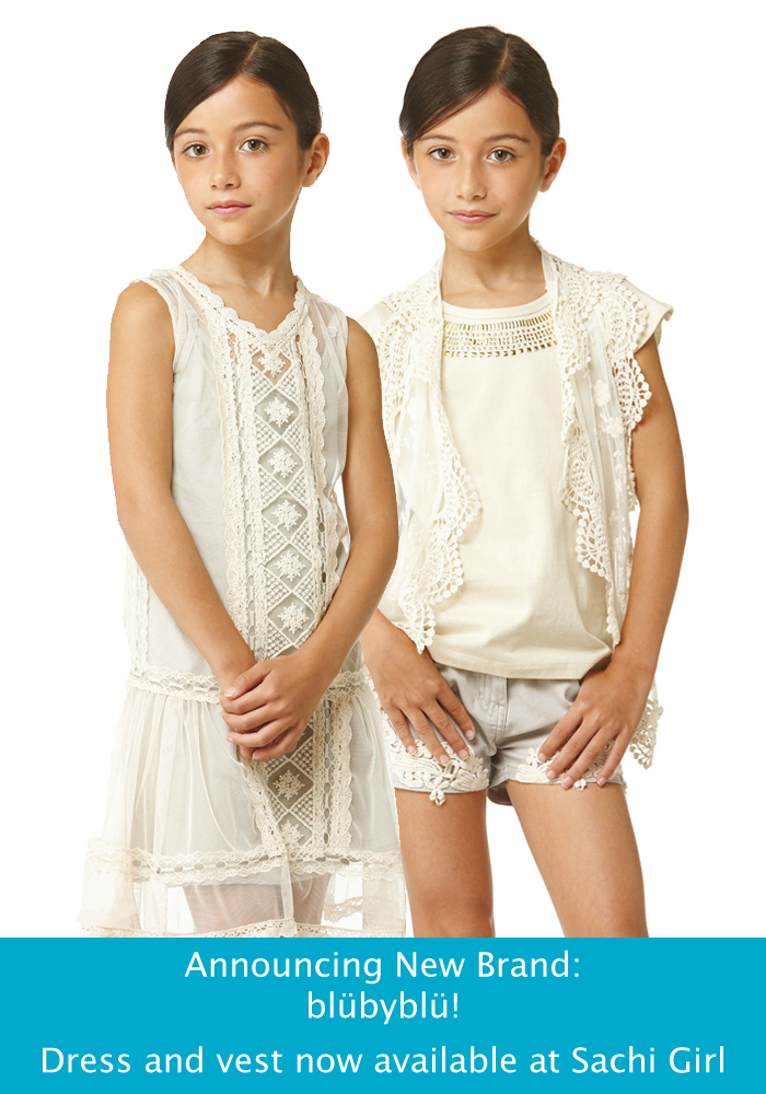 new at Sachi: blubyblu girls clothing