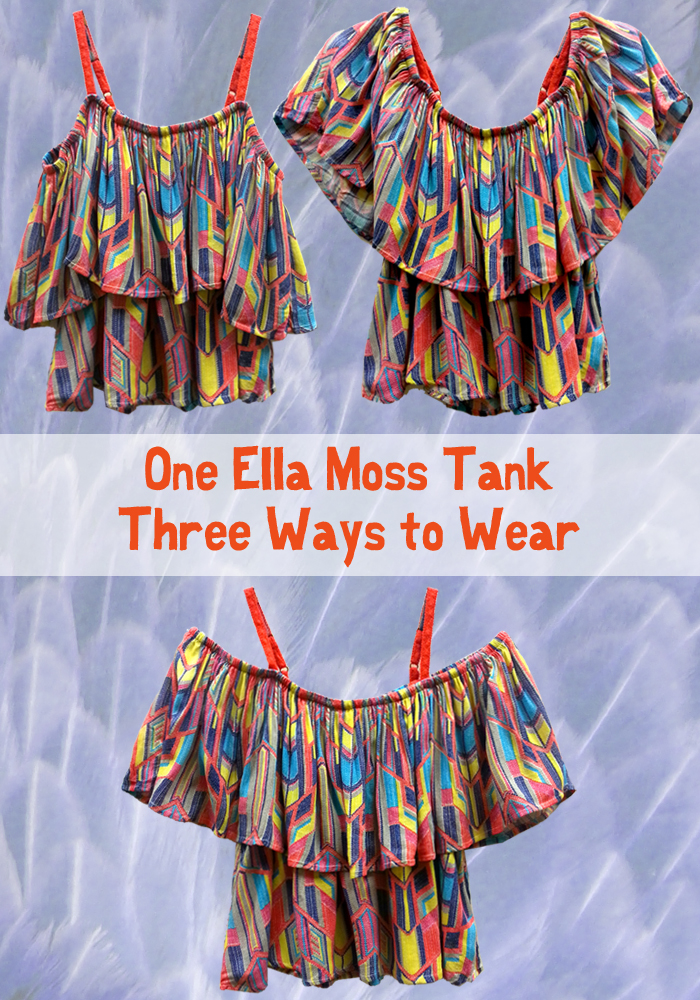 Ella Moss Three-in-One Tank