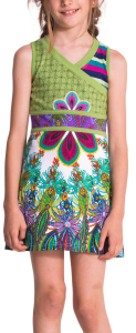abstracted florals cover this cute desigual dress