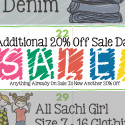 Save Even More – Extra 20% Off Sale Items!