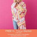 Free Giant Cuddly Blanket?!