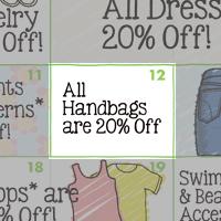 Sachi 2015 Spring Calendar: Handbags 20% off