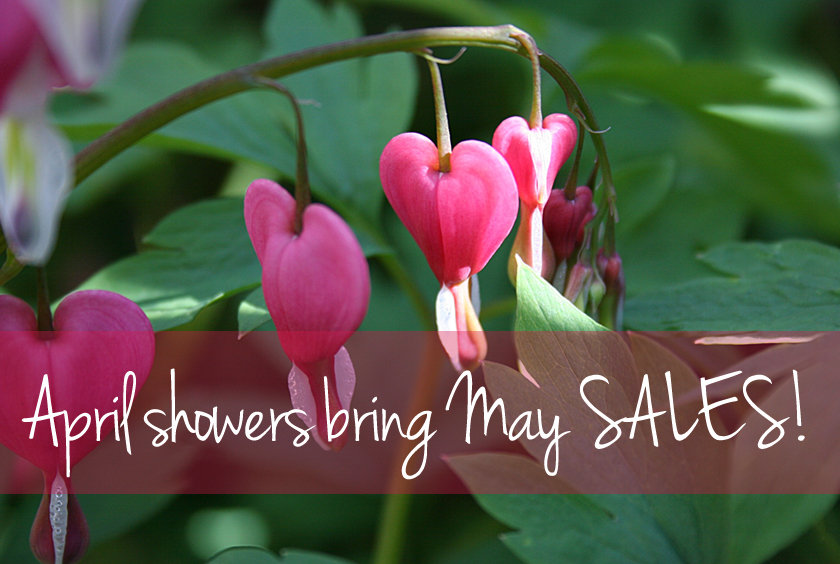 Every day in May is a sale at Sachi!