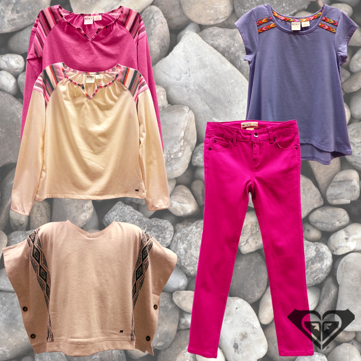 New Tops and Jeans from Roxy Girl