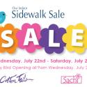 Sachi Sidewalk Sale 2015
