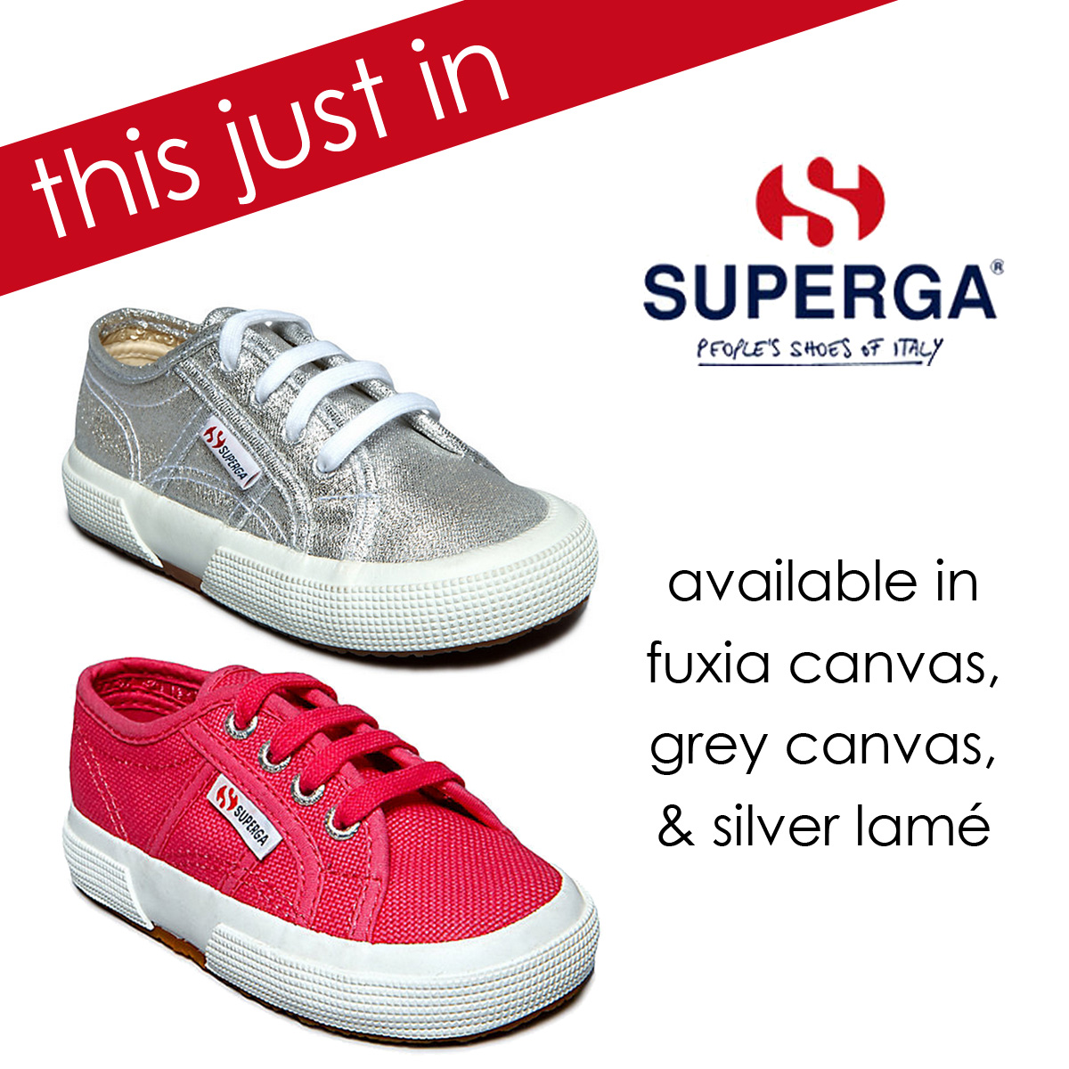 Superga is now available at Sachi
