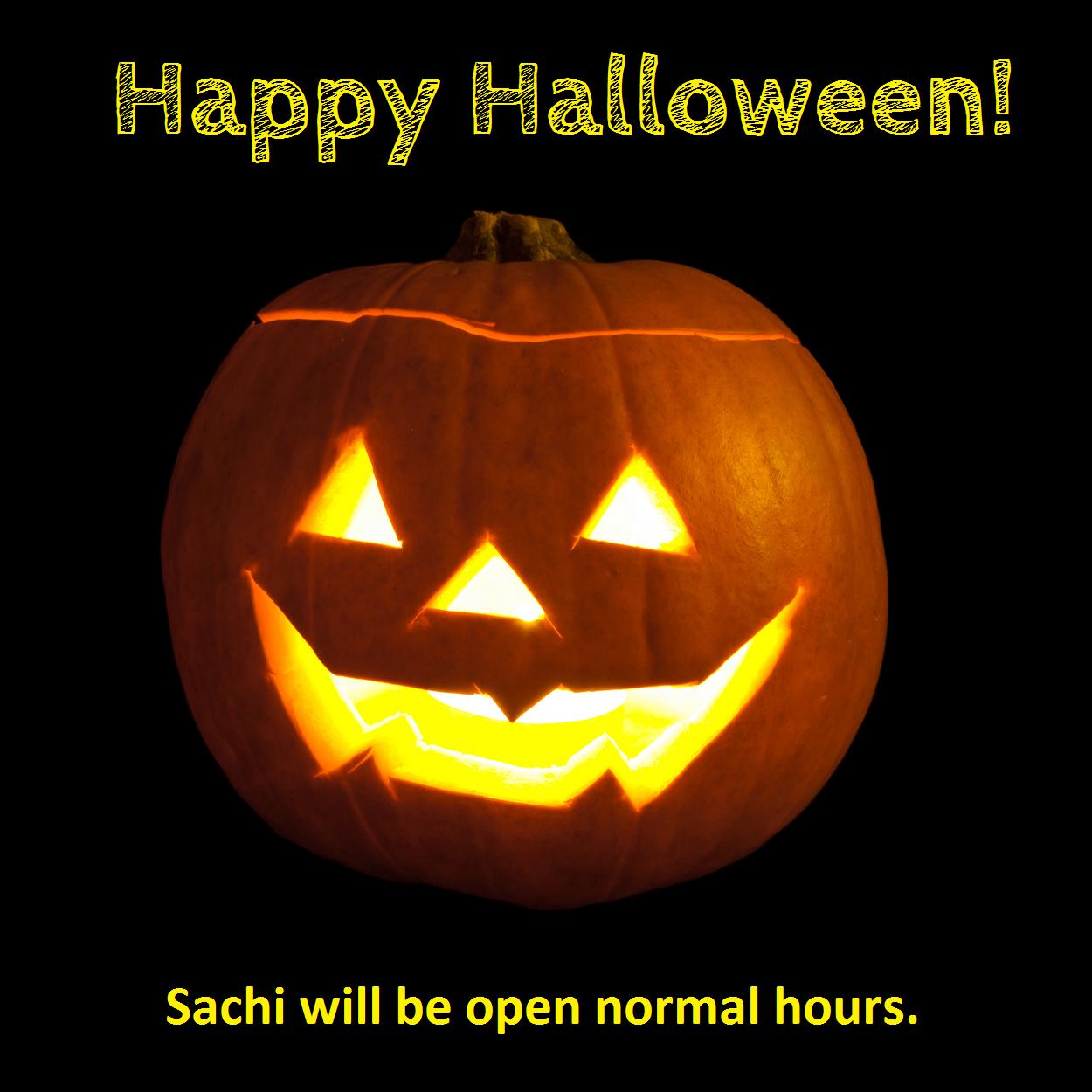 halloween regular hours