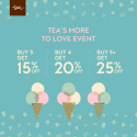 It's a sale on Tea Collection!