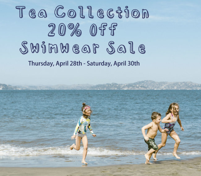 save 20% on Tea Collection swimwear
