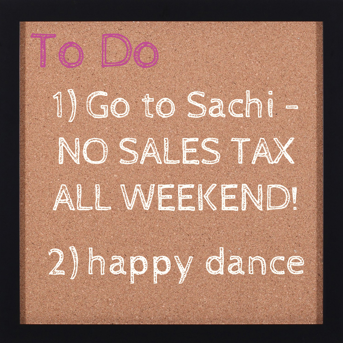 tax free weekend copy